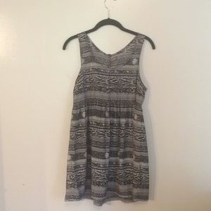 Urban Outfitters - ecote Aztec babydoll dress